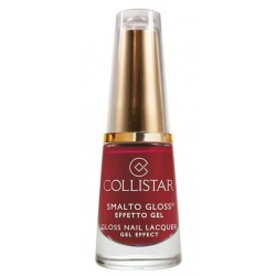 Collistar Gloss Nail Lacquer Gel Effect Żelowy lakier do paznokci 578 Rosso Impulsiva 6ml