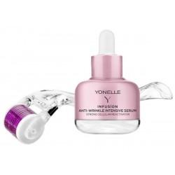 Yonelle Infusion Micro-Needling Treatment Intensywne serum przeciwzmarszkowe 30ml + Mezoroller