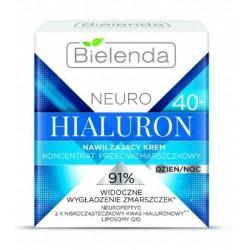 Bielenda Neuro Hialuron 40+ Nawilżający krem koncentrat przeciwzmarszczkowy dzień/noc 50ml