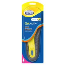 Scholl Gel Activ Insoles For Work Wkładki do obuwia do pracy dla kobiet 2szt