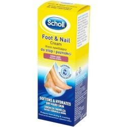 Scholl Foot & Nail Cream Krem nawilżający do stóp i paznokci 60ml