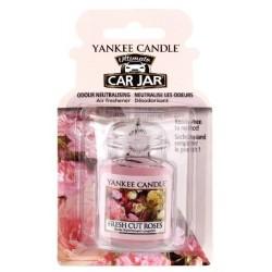 Yankee Candle Car Jar Ultimate Wiszący odświeżacz do samochodu Fresh Cut Roses