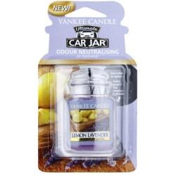Yankee Candle Car Jar Ultimate Wiszący odświeżacz do samochodu Lemon Lavender