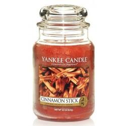 Yankee Candle Large Jar Duża świeczka zapachowa Cinamon Stick 623g