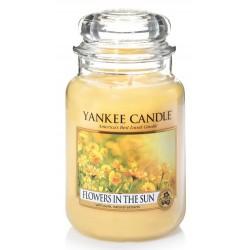 Yankee Candle Large Jar Duża świeczka zapachowa Flowers In The Sun 623g