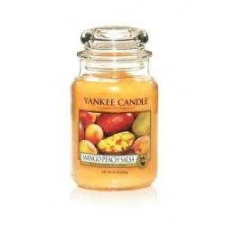 Yankee Candle Large Jar Duża świeczka zapachowa Mango Peach Salsa 623g