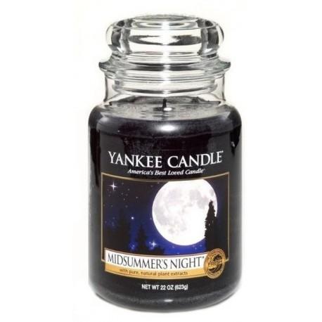 Yankee Candle Large Jar Duża świeczka zapachowa Midsummer`s Night 623g