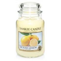Yankee Candle Large Jar Duża świeczka zapachowa Sicilian Lemon 623g