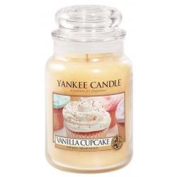 Yankee Candle Large Jar Duża świeczka zapachowa Vanilla Cupcake 623g