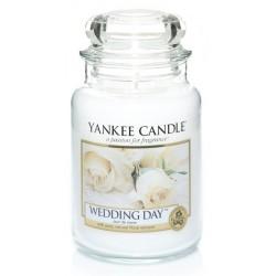 Yankee Candle Large Jar Duża świeczka zapachowa Wedding Day 623g