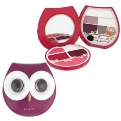 Pupa Owl 2 Paleta do makijażu oczu i ust 012 Cold Shades 10,5g