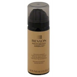 Revlon Photoready Airbrush Mousse Makeup Podkład do twarzy w piance 050 Medium Beige 39,7g