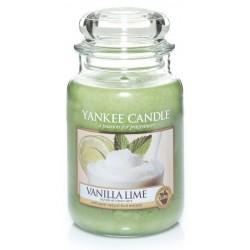 Yankee Candle Large Jar Duża świeczka zapachowa Vanilla Lime 623g
