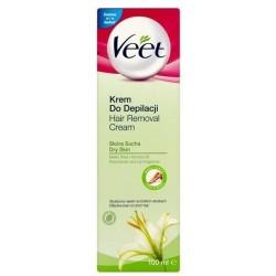 Veet Silk&Fresh Krem do depilacji dla skóry suchej 100ml