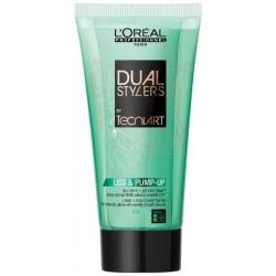 L`Oreal Tecni Art Dual Stylers Liss & Pump-Up Żel + krem nadający włosom gładkość i objętość Force 2 150ml