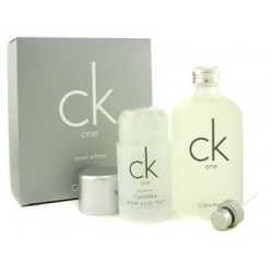 Calvin Klein CK One Woda toaletowa 100ml spray + Dezodorant 75g sztyft