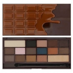 Makeup Revolution I Heart Chocolate Salted Carmel Paleta 16 cieni 22g