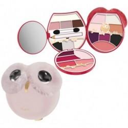 Pupa Owl 4 Paleta do pełnego makijażu 011 Cold Shades 29,2g