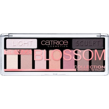 Catrice The Nude Blossom Collection Eyeshadow Palette Paleta cieni do powiek 010 Blossom `N Roses 10g