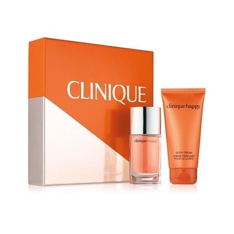 Clinique Happy Woda perfumowana 30ml spray + Krem do ciała 75ml
