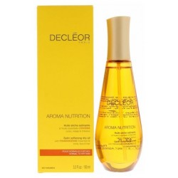 Decleor Aroma Nutrition Satin Softening Dry Oil Suchy olejek odżywczy do ciała i włosów 100ml