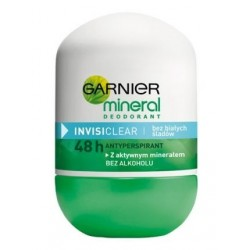 Garnier Mineral Invisi Clear Dezodorant w kulce 50ml