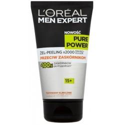 L`Oreal Men Expert Pure Power 15+ Żel-peeling przeciw zaskórnikom 150ml