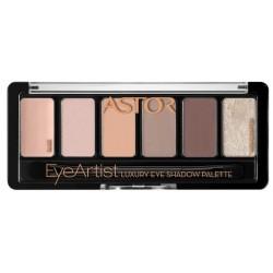 Astor Eye Artist Luxury Eye Shadow Palette Paleta cieni do powiek 300 Rosy Greys 5,6g