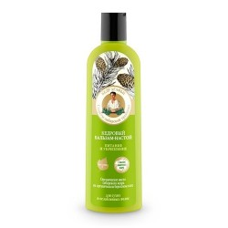 Bania Agafii Wzmacniająco-odżywczy balsam do włosów suchych i osłabionych Cedr 280ml