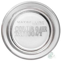 Maybelline Eye Studio Color Tattoo 24 HR Eyeshadow Cień do powiek w kremie 45 Infinite White