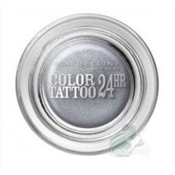 Maybelline Eye Studio Color Tattoo 24 HR Eyeshadow Cień do powiek w kremie 50 Eternal Silver