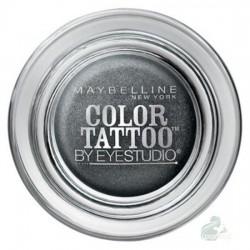 Maybelline Eye Studio Color Tattoo 24 HR Eyeshadow Cień do powiek w kremie 55 Immortal Charcoal