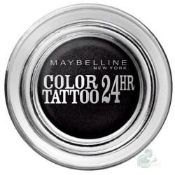 Maybelline Eye Studio Color Tattoo 24 HR Eyeshadow Cień do powiek w kremie 60 Timeless Black