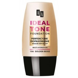 AA Ideal Tone Foundation Podkład do twarzy 106 Golden Beige 30ml