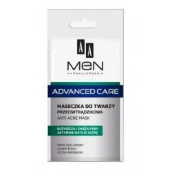 AA Men Advanced Care Maseczka do twarzy przeciwtrądzikowa 12ml