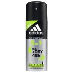 Adidas 6in1 Cool&Dry Dezodorant spray 150ml