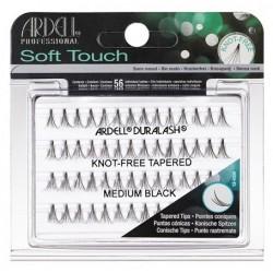 Ardell Soft Touch Zestaw 56 kępek rzęs Medium Black