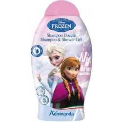 Beauty & Care Frozen Shower Gel & Shampoo Żel pod prysznic i szampon Raspberry 300ml