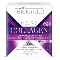 Bielenda Neuro Collagen 60+ Odbudowujący krem koncentrat przeciwzmarszczkowy dzień/noc 50ml