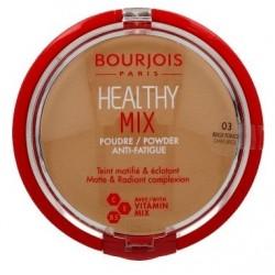 Bourjois Healthy Mix Powder Puder w kamieniu matująco rozświetlający 03 Beige Fonce 11g