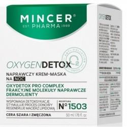 Mincer Pharma Oxygen Detox Naprawczy krem-maska na noc No. 1503 50ml