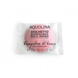 Aquolina Effervescent Bath Tablet Tabletka do kąpieli Poziomka/Wild Strawberry 25g