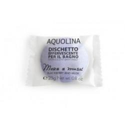 Aquolina Effervescent Bath Tablet Tabletka do kąpieli Dzikie Piżmo/Blackberry And Musk 25g