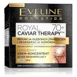 Eveline Royal Caviar Therapy 70+ Luksusowy krem-koncentrat silnie regenerujący na dzień 50ml