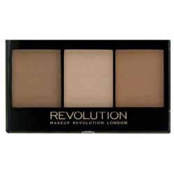 Makeup Revolution Ultra Sculpt & Contour Kit Zestaw do konturowania twarzy Ultra Light/Medium 11g