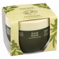 Olivolio Repairing Hair Mask Color Protection Odbudowująca maska do włosów suchych i zniszczonych z oliwą z oliwek 250ml