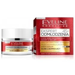 Eveline Ekspert Odmłodzenia 45+ Krem-serum silnie ujędrniający na dzień/noc 50ml