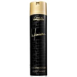 L`Oreal Infinium Ekstramocno utrwalający suchy lakier do włosów Extra-Strong 500ml