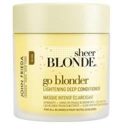 John Frieda Sheer Blonde Go Blonder Lightening Deep Conditioner Wzmacniająca odżywka do włosów blond 250ml