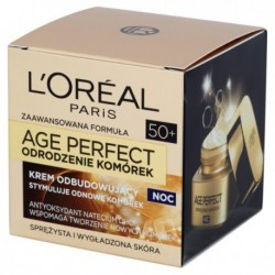 L`Oreal Age Perfect Odrodzenie Komórek 50+ Krem na noc 50ml